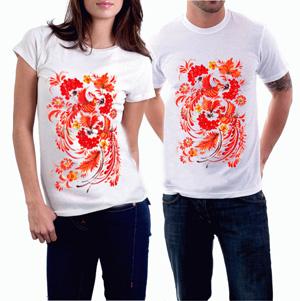 этно футболки петриковский орнамент