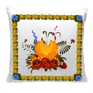 подушка петриковский орнамент