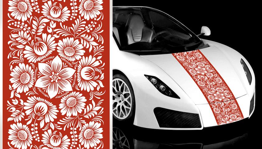 А010 – Белые цветы