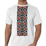 футболка украинский узор
